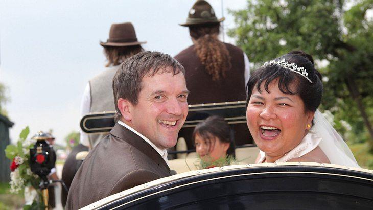 """Josef und Narumol heirateten 2010 bei """"Bauer sucht Frau"""""""