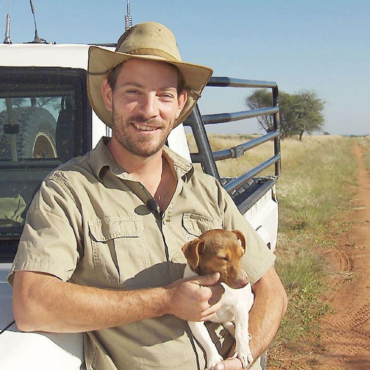 Bauer such Frau - Die Farm von Gerald ist in Namibia