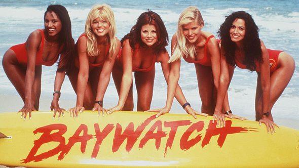 Baywatch-Darsteller in den 90er Jahren - Foto: Getty Images