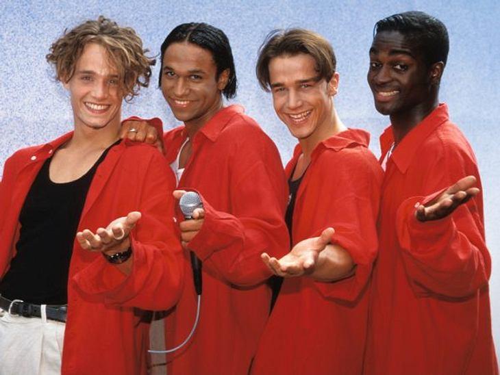 """Die Boygroups der 90er""""You Made Me Believe in Magic"""": Was haben wir unsere Eltern mit diesem Song von """"Bed & Breakfast"""" genervt. Aber die fünf Hamburger, die sich 1995 zusammengetan haben, konnten auch einfach zu sch"""