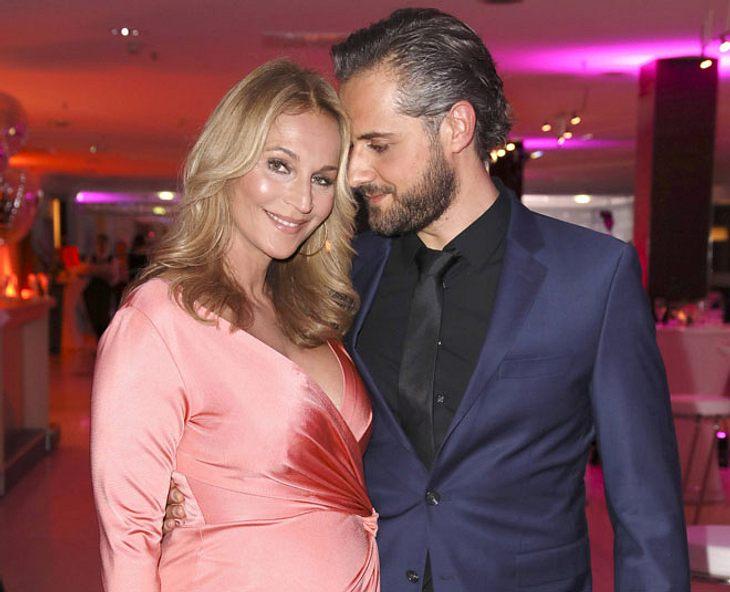 Caroline Beil und ihr Ehemann