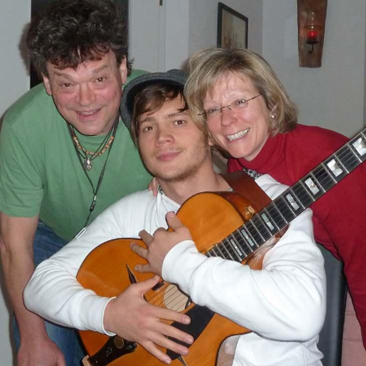 Bela Klentze zeigt seine Familie
