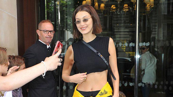 Bella Hadid Tragt Die Beliebteste Frisur Der It Girls Intouch