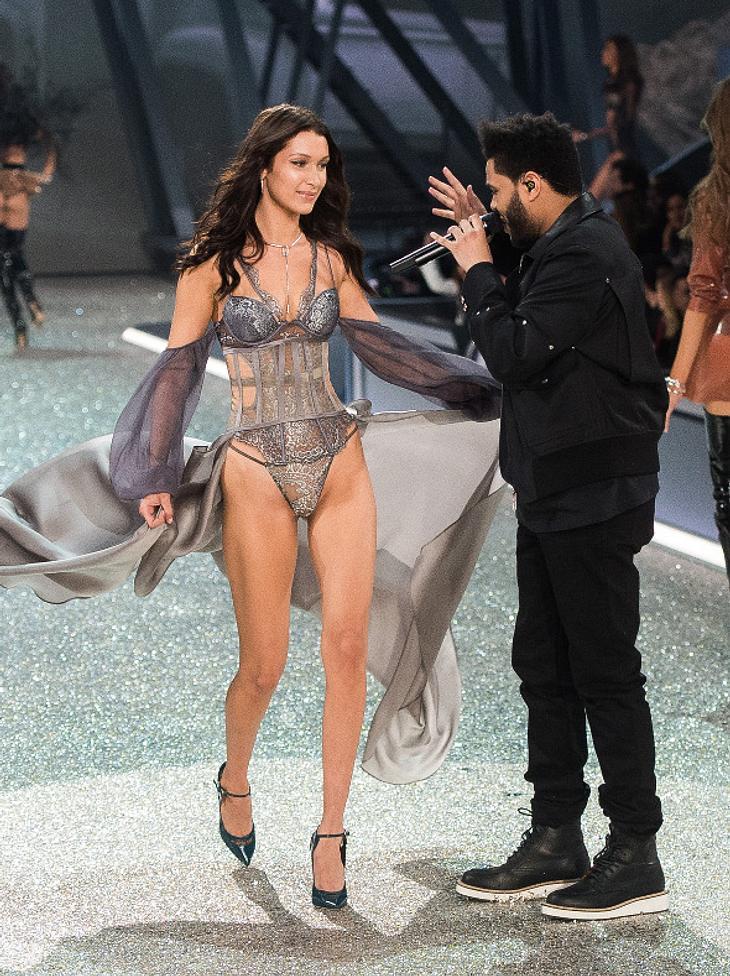 The Weeknd schien begeistert vom Outfit seiner Ex-Freundin Bella Hadid zu sein