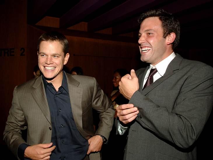 Promi-BFFs - Durch dick & dünnDenkt man an beste Freunde in Hollywood, dann sind Matt Damon  (41) und Ben Affleck  (40) bestimmt die ersten, die einem in den Sinn kommen. Als 8-Jähriger lernte Ben Affleck den zwei Jahre älteren Matt Dam