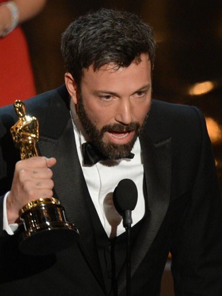 Ben Affleck gewann den Oscar für seinen Film Argo