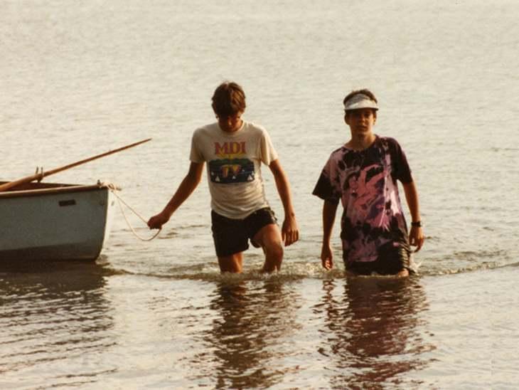 Von da an verbrachten sie jede freie Minute miteinander, fuhren ständig zusammen in den Urlaub.