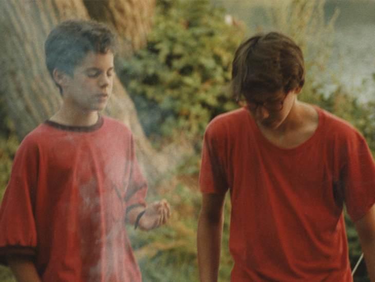 Besonders gern fuhren die Familien an den Behler See. Hier konnten die Jungs so richtig rumtoben.