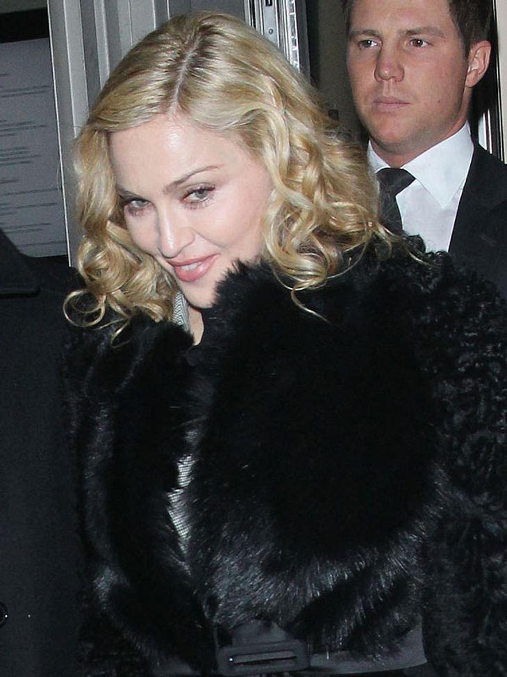 Madonna droht eine Klage wegen Beleidigung