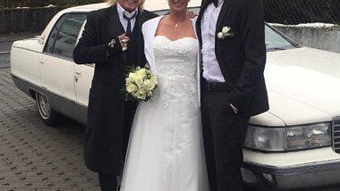 Die Tochter von Bert Wollersheim hat geheiratet - Foto: Facebook/Bert Wollersheim