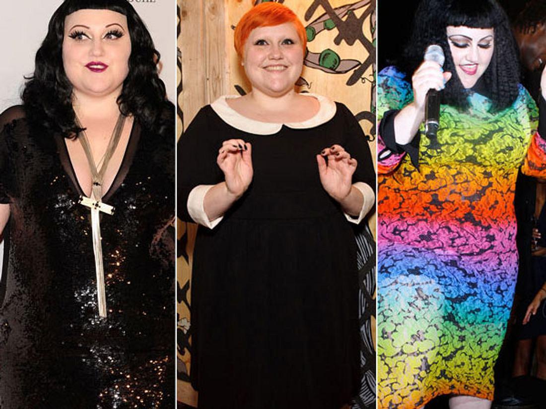 Die mutige Plus-Size-Queen: Beth Dittos ungewöhnlicher Look - Bild 1