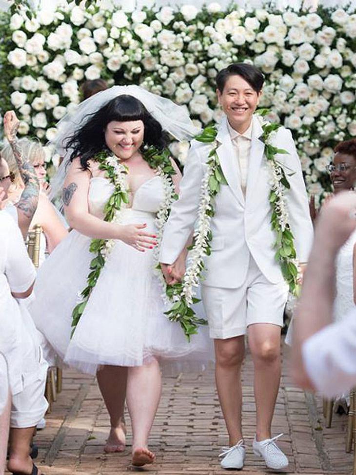 Beth Ditto und Kristin Ogata haben geheiratet