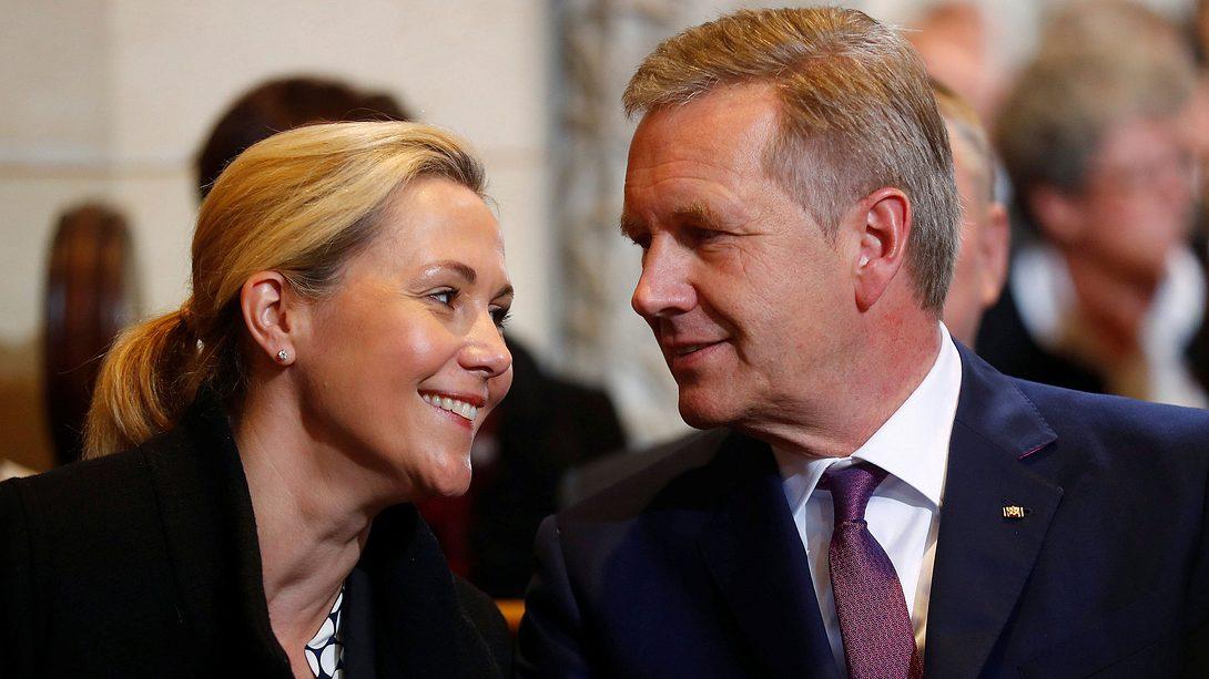 Bettina und Christian Wulff - Foto: Getty Images