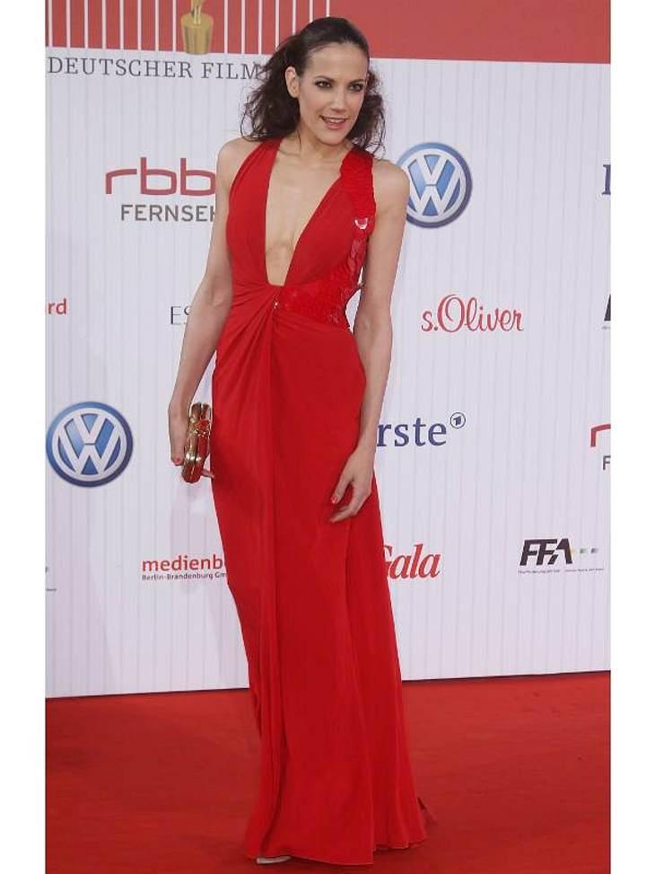 Zwei Stars, ein Kleid: Diese Stars tragen die gleichen Klamotten!Der Look von Bettina Zimmermann:... die deutsche Schauspielerin Bettina Zimmermann.