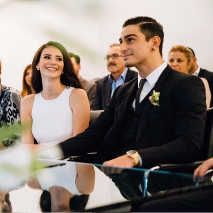 Betty Taube hat ihren Koray Günter geheiratet