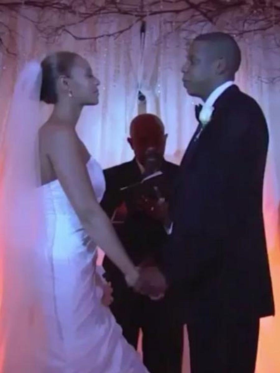 Jay-Z und Beyoncé haben am 4. April 2008 geheiratet