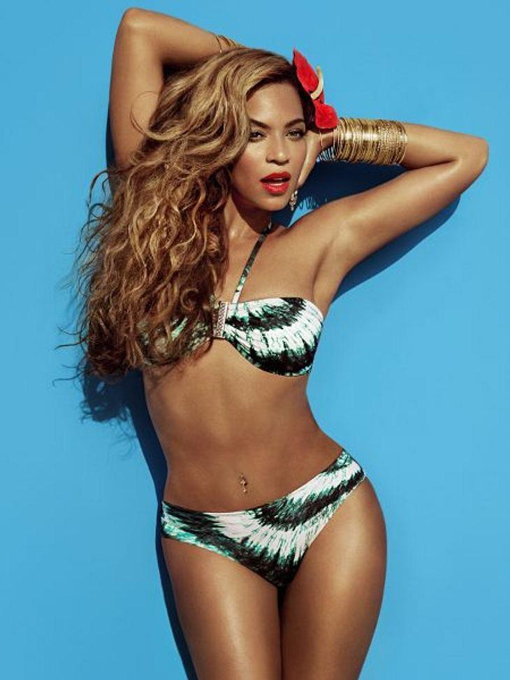 Ihre Lieblingsteile hat Beyoncé dann auch gleich vor zwei Top-Fotografen ausprobiert.