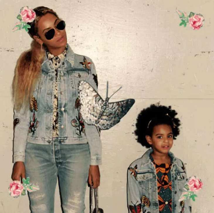 Beyonce Blue Ivy Tochter