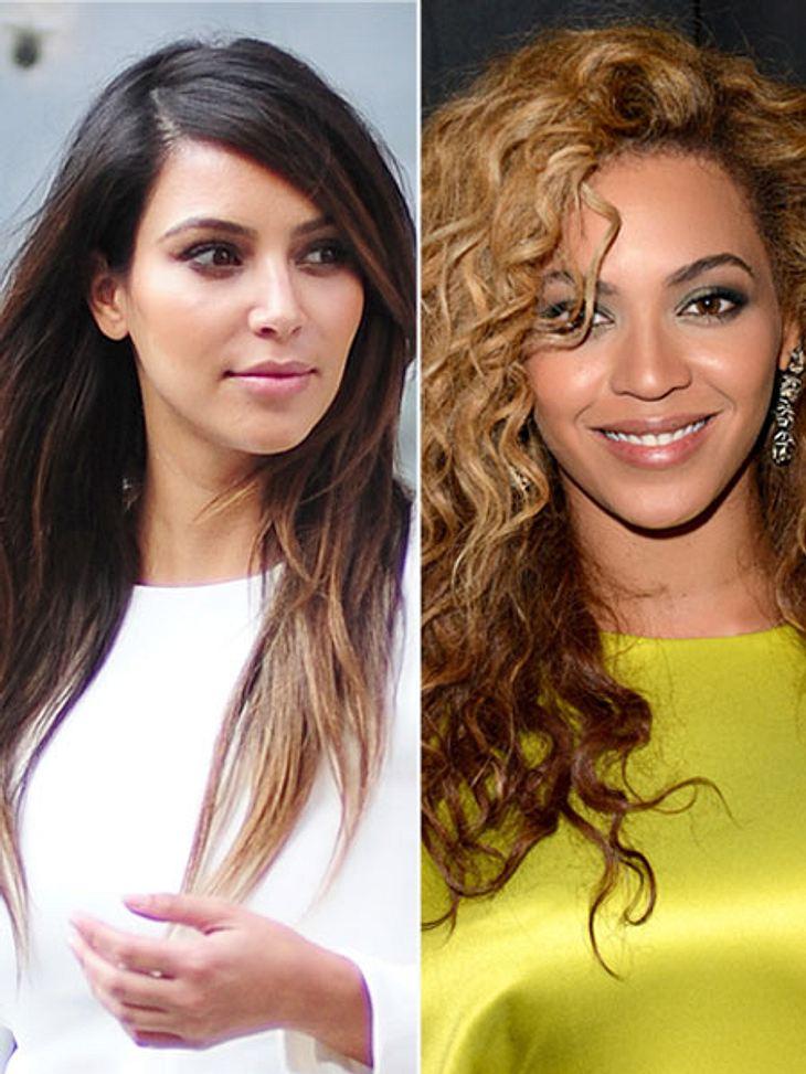 Kim Kardashian und Beyoncé gehen sich offenbar aus dem Weg