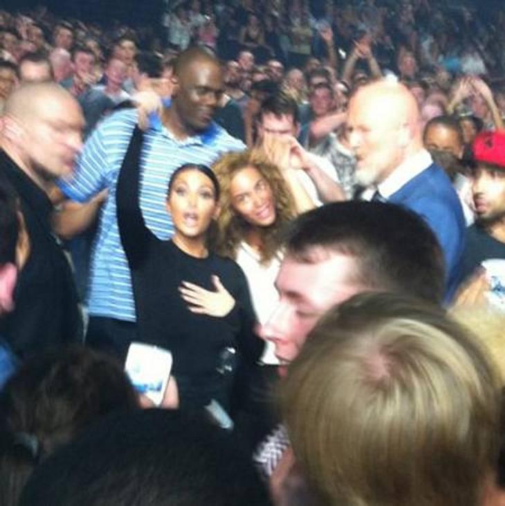 Feindschaft sieht anders aus: Kim Kardashian und Beyoncé machten gemeinsam Party