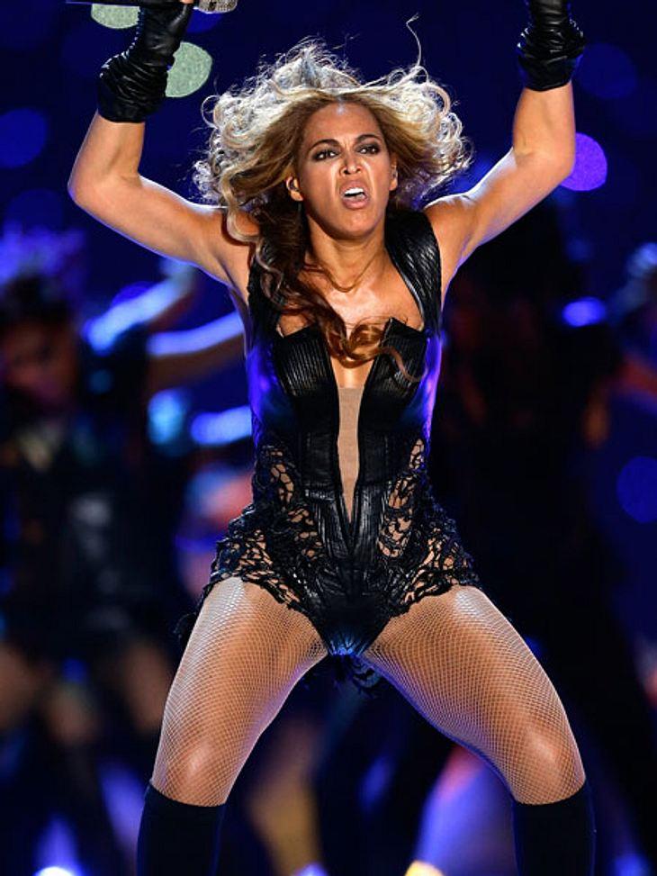 Beyoncé blieb mit den Haaren im Ventilator hängen
