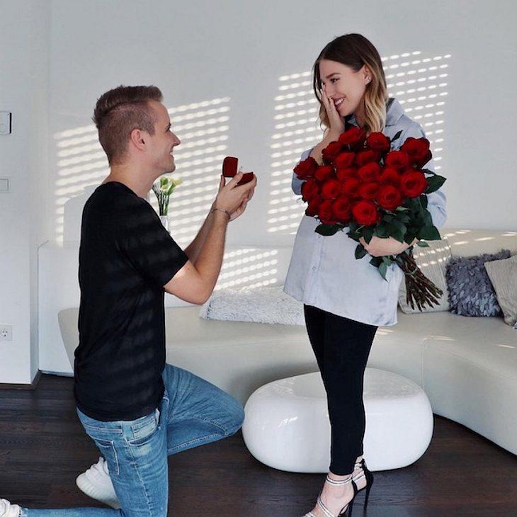 Schwangere Bibi Heinicke: Verlobung mit ihrem Julian!