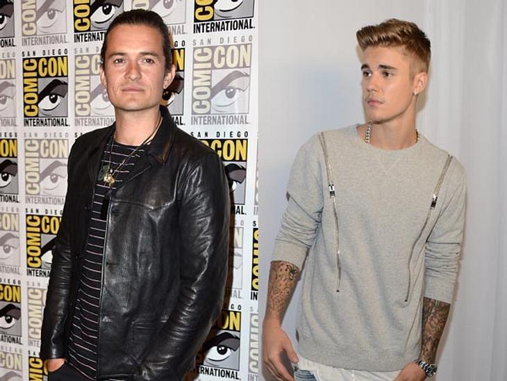 Justin Bieber vs. Orlando Bloom: Krieg auf Instagram