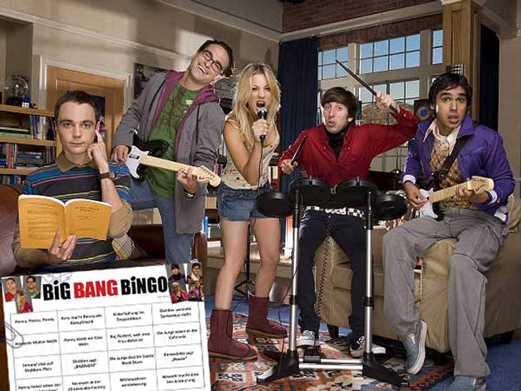 "Die achte Staffel von ""The Big bang Theory"" startet"