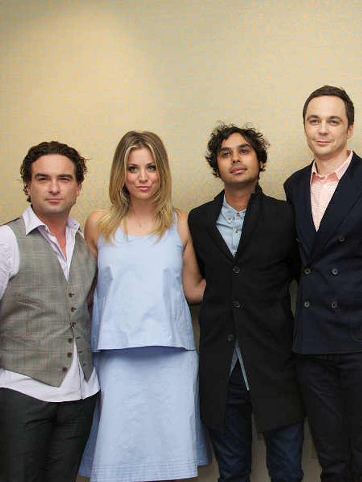 """Der Drehstart der achten Staffel von """"The Big Bang Theory"""" wurde verschoben."""