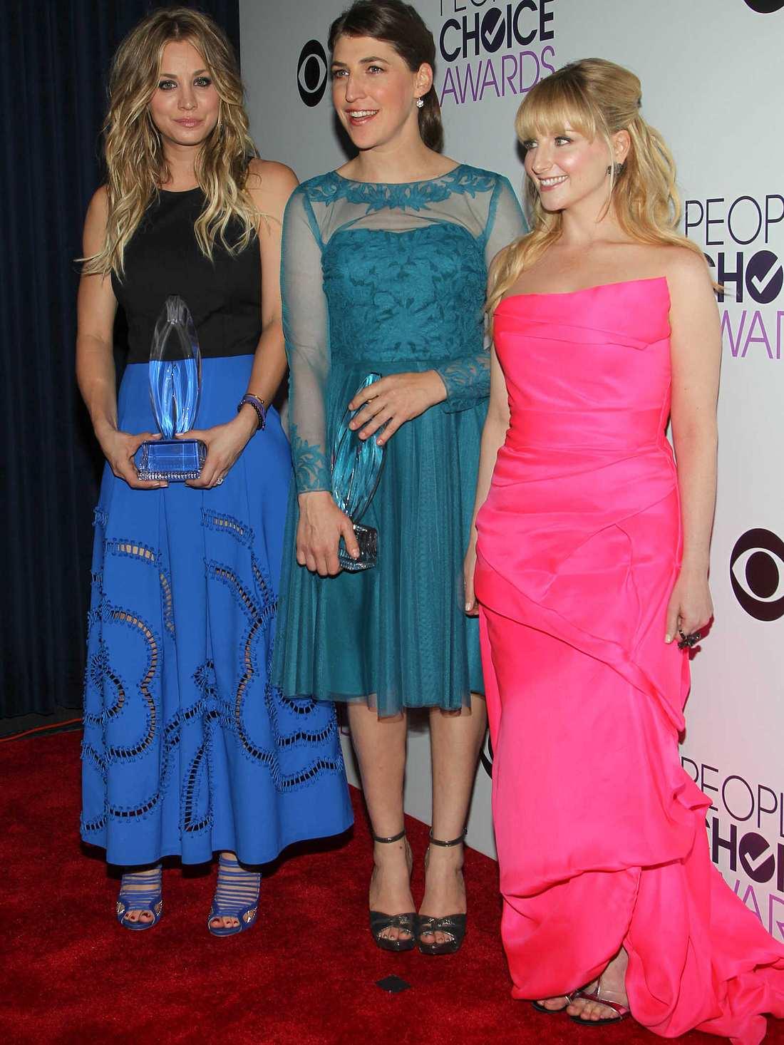 """Die Girls von """"The Big Bang Theory"""""""