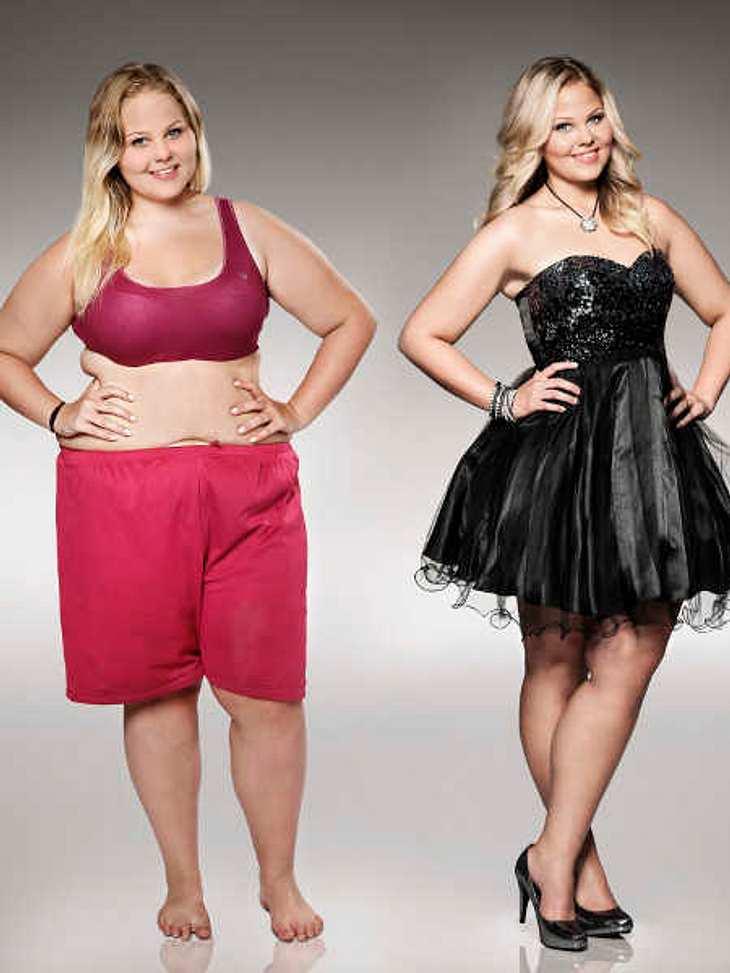 Nicole im Vorher-Nachher-Vergleich!