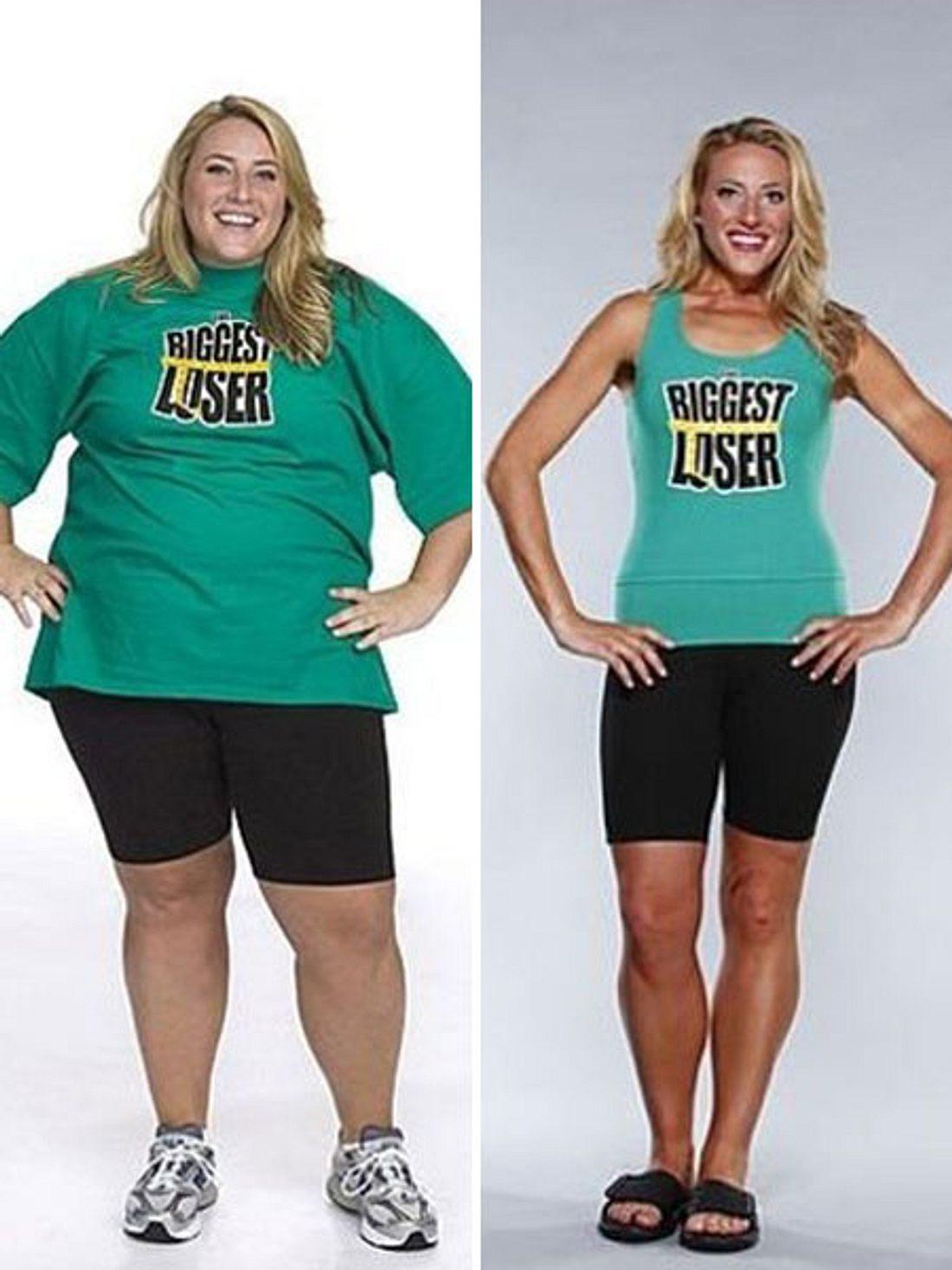 The Biggest Loser: Tara Costa vorher und nachher.