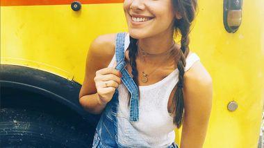 Janina Uhse war am vergangenen Wochenende beim Rock am Ring - Foto: Instagram/ janinauhse