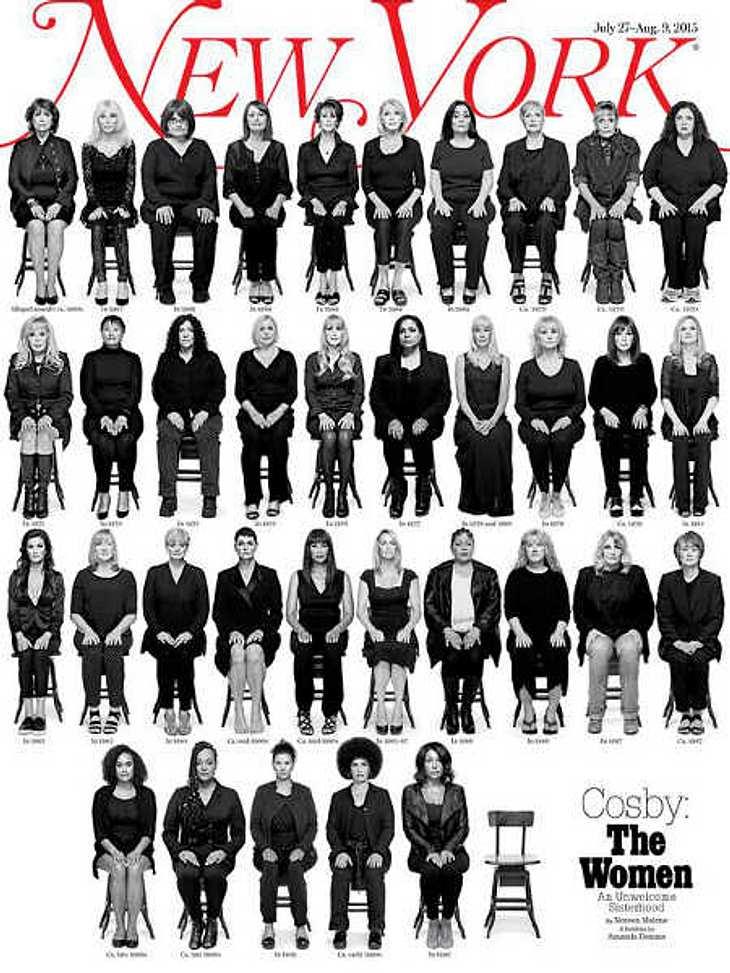 Bill Cosby: 35 von ihm missbrauchte Frauen erheben Anklage!