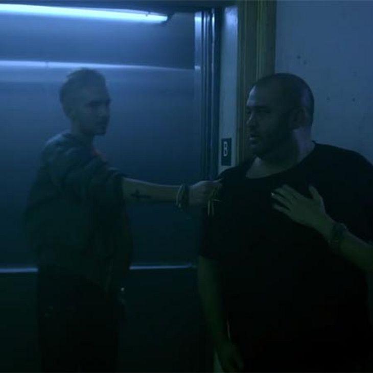 Bill krallt sich jemanden für eine Nummer im Fahrstuhl
