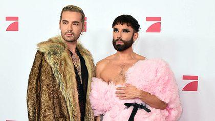 Bill Kaulitz & Conchita Wurst: Süßes Geständnis! Jetzt macht es Bill offiziell! - Foto: Getty Images