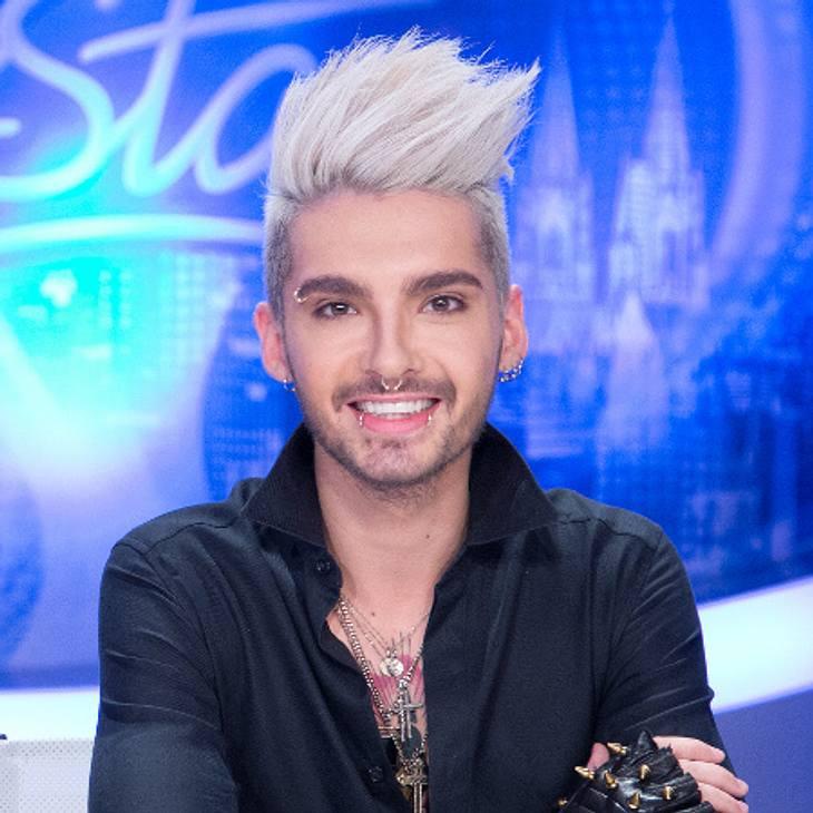 """Auch komplett blondierte Haare stehen dem """"Tokio Hotel""""-Sänger ausgesprochen gut."""