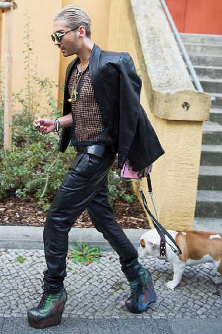 Bill Kaulitz: Läutet er mit DIESEN Schuhen eine neue Style-Epoche ein?