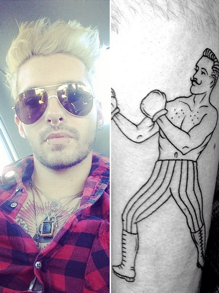 Bill Kaulitz hat ein neues Tattoo.