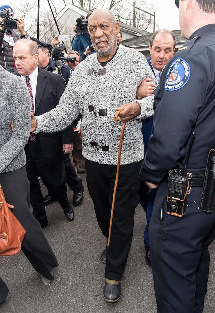 Bill Cosby: Gegen Millionen-Kaution auf freiem Fuß