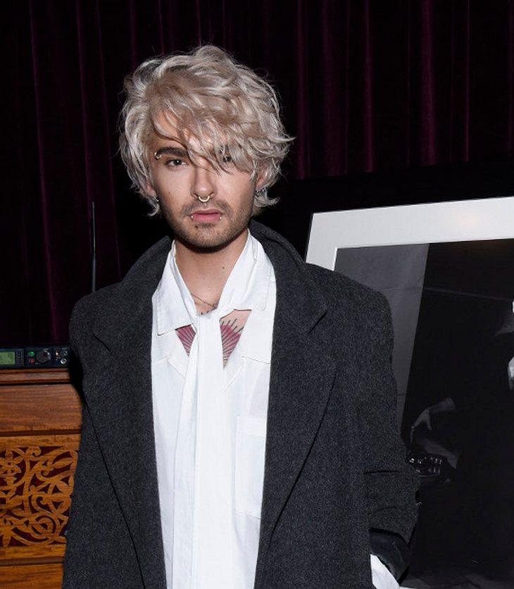 Bill Kaulitz mit blonden Wellen