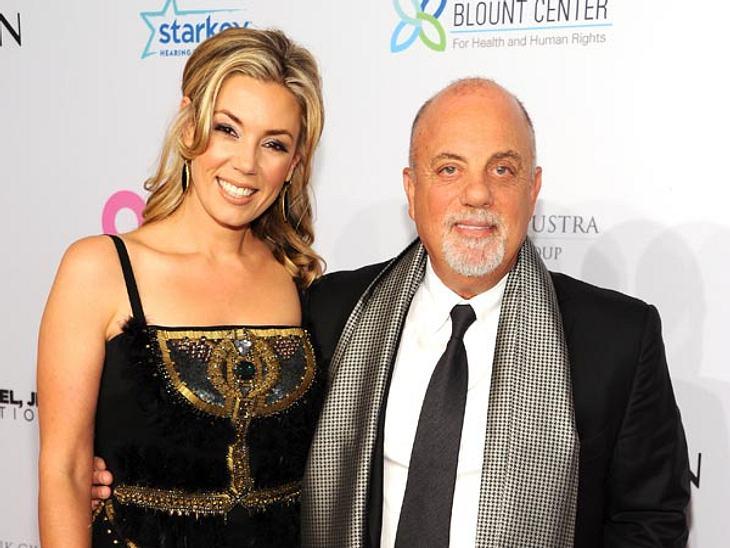 Billy Joel und Alexis Roderick sind frischverheiratet