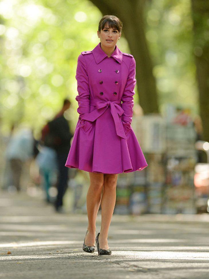 Lea Michele blickt nach vorn