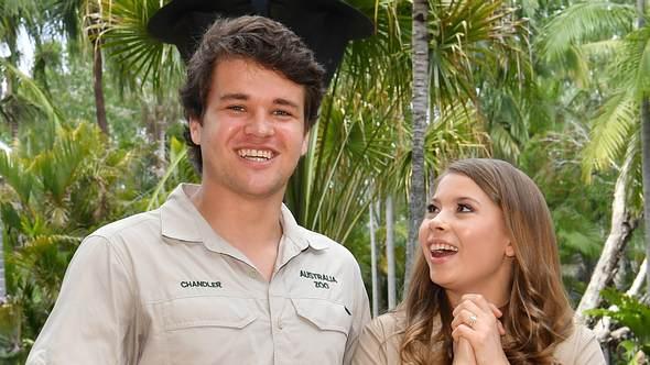 Chandler Powell und Bindi Irwin - Foto: imago