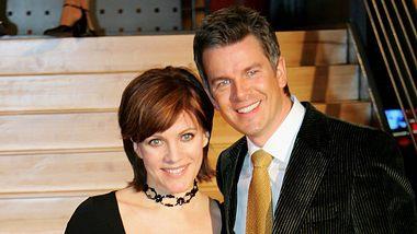 Markus Lanz und Birgit Schrowange als Paar 2006 - Foto: Getty Images