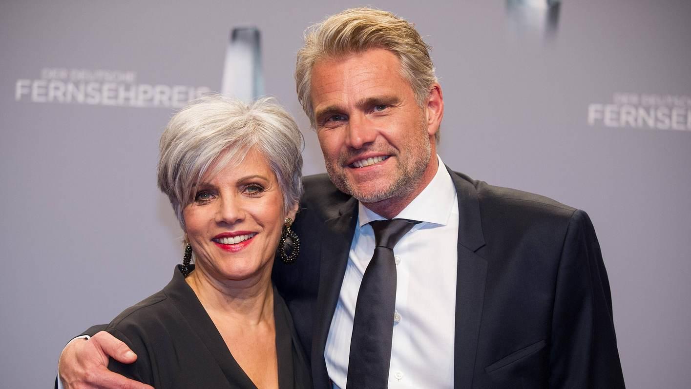Birgit Schrowange mit Partner Frank Spothelfer
