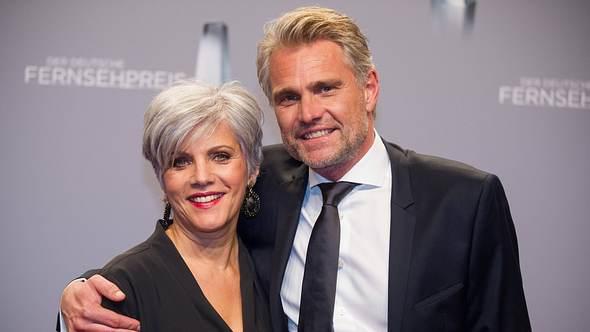 Birgit Schrowange mit Partner Frank Spothelfer - Foto: Imago