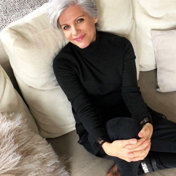 Birgit Schrowange zeigt sich von ihrer wilden Seite