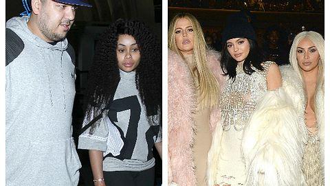 Robert Kardashian und  Blac Chyna gegen Khloe Kardashian, Kylie Jenner und Kim Kardashian - Foto: WENN.com