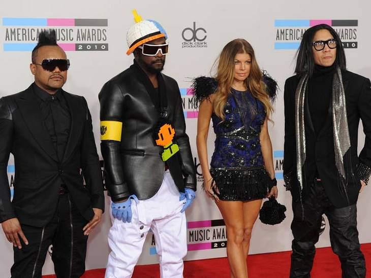"""Die größten Popstars der letzten 20 JahrePlatz 8 - """"Black Eyed Peas"""""""